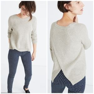 Madewell 🌵 Province Cross - Back Pullover Sweater